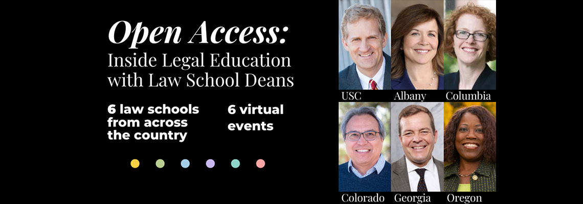 Inside Legal Education with Law School Deans