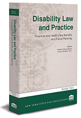 Disability Law and Practice—Book Two