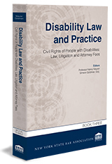 Disability Law and Practice—Book Three