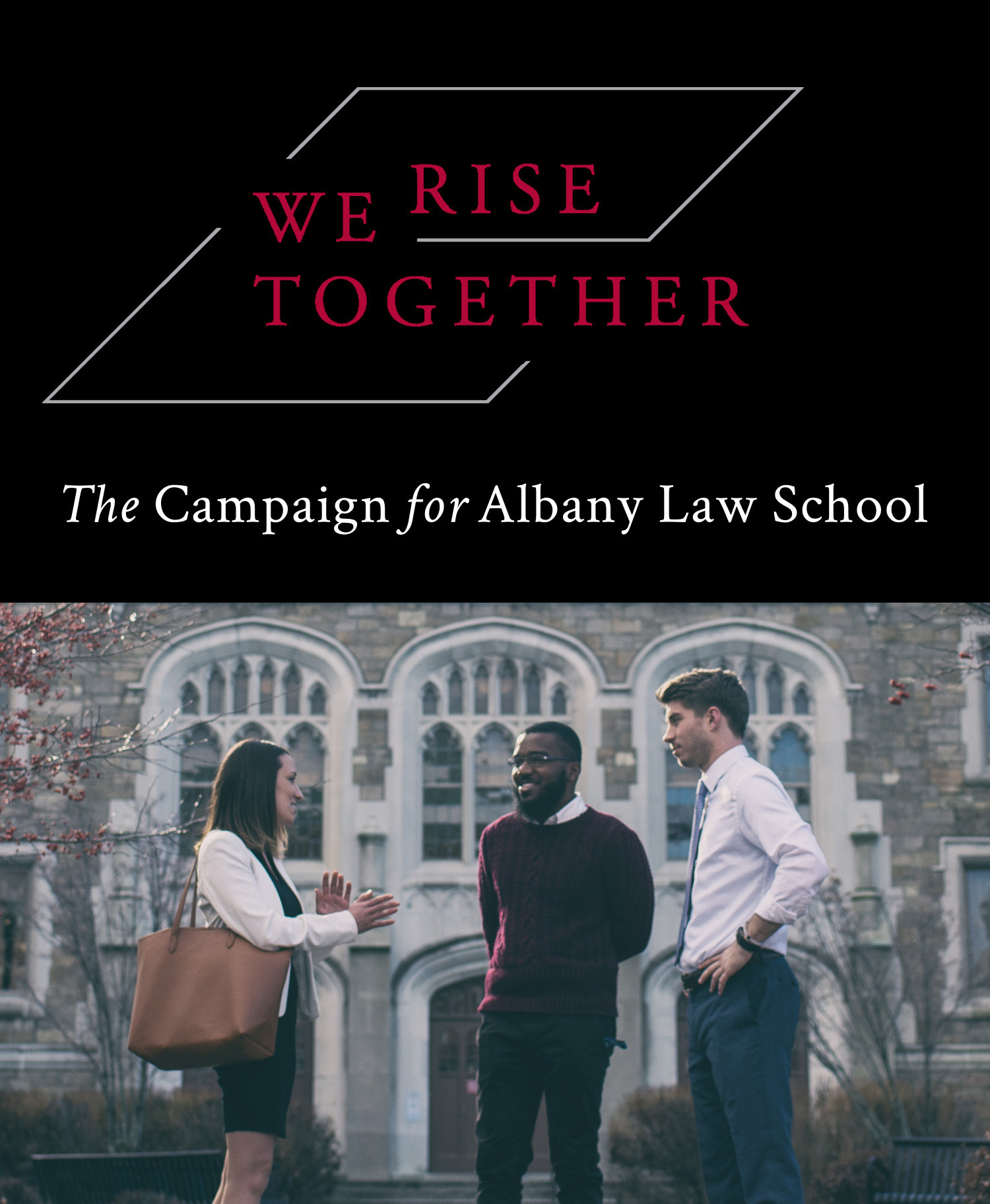 We Rise Together Mobile Banner