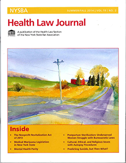 NYSBA Health Law Journal